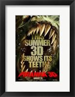Framed Piranha 3D