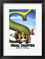 Framed Shrek Forever After - Style D