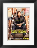 Framed Californication - sitting on steps