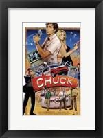 Framed Chuck Vintage Retro
