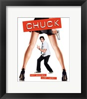 Framed Chuck Not Shaken. Just Nerd.