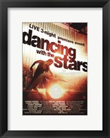 Framed Dancing with the Stars Live