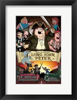 Framed Family Guy Logn John Peter