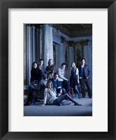 Framed Gossip Girl Cast