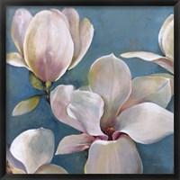 Framed New Magnolias I