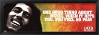 Framed Bob Marley - Music