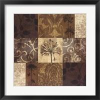 Framed Floral Nine Patch