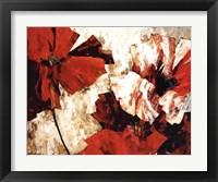 Framed Dancing in Crimson