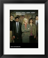Framed Parks and Recreation