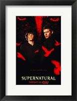 Framed Supernatural (TV) Black and Red