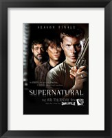 Framed Supernatural (TV) Season Finale