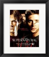 Framed Supernatural (TV) Sam Dean & John Winchester