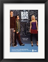 Framed Big Bang Theory - black board