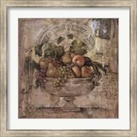 Framed Melange De Fruit I