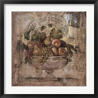 Framed Melange De Fruit I