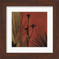 Framed Tropical Silhouette II