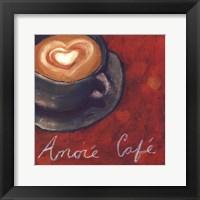 Framed Cafe Amore II