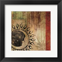 Framed Sun And Moon I