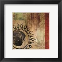Framed Sun And Moon I
