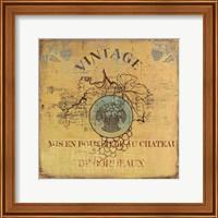 Framed Vino IV