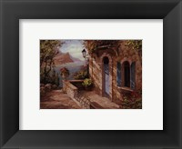 Framed Amalfi Coast II