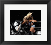 Framed Kelly Kelly 2010 Spotlight Action