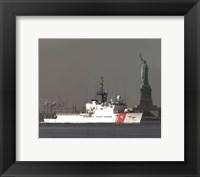 "Framed Coast Guard Cutter ""Forward"" United States Coast Guard"
