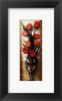 Framed Paisley Tulip