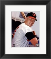 Framed Boog Powell Posed
