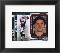 Framed Mark Sanchez 2010 Studio Plus