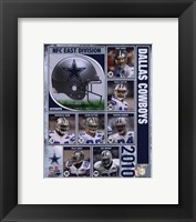 Framed 2010 Dallas Cowboys Team Composite