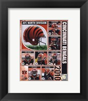 Framed 2010 Cincinnati Bengals Team Composite