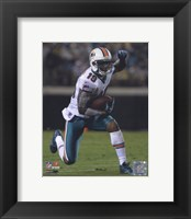 Framed Brandon Marshall 2010 Action