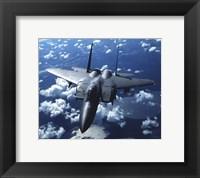 Framed F-15 E Strike Eagle United States Air Force