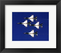 Framed United States Air Force Thunderbirds