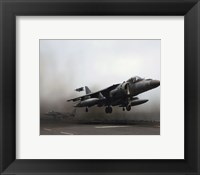Framed AV-8B Harrier II United States Marine Corps