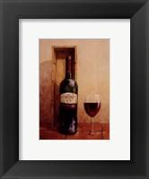 Framed Open Bottle I