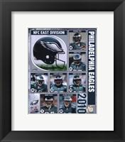 Framed 2010 Philadelphia Eagles Team Composite