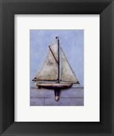 Framed Model Boat