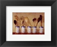 Framed Kitchen Tools