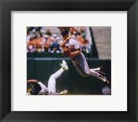 Framed Cal Ripken Jr. 1989 Action