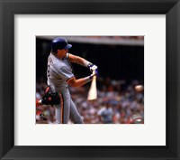 Framed Robin Yount Action