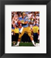 Framed Troy Aikman Bruins 1988  Football Action
