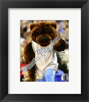 Framed UCLA Bruins Mascot 2009