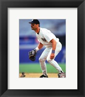 Framed Don Mattingly 1995 Action