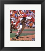 Framed Bob Gibson Action