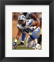 Framed Ndamukong Suh 2010 Action