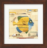 Framed Yellow Fish