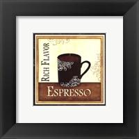 Coffee and Cream III Framed Print