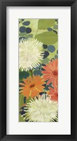 Tangerine Garden III Framed Print